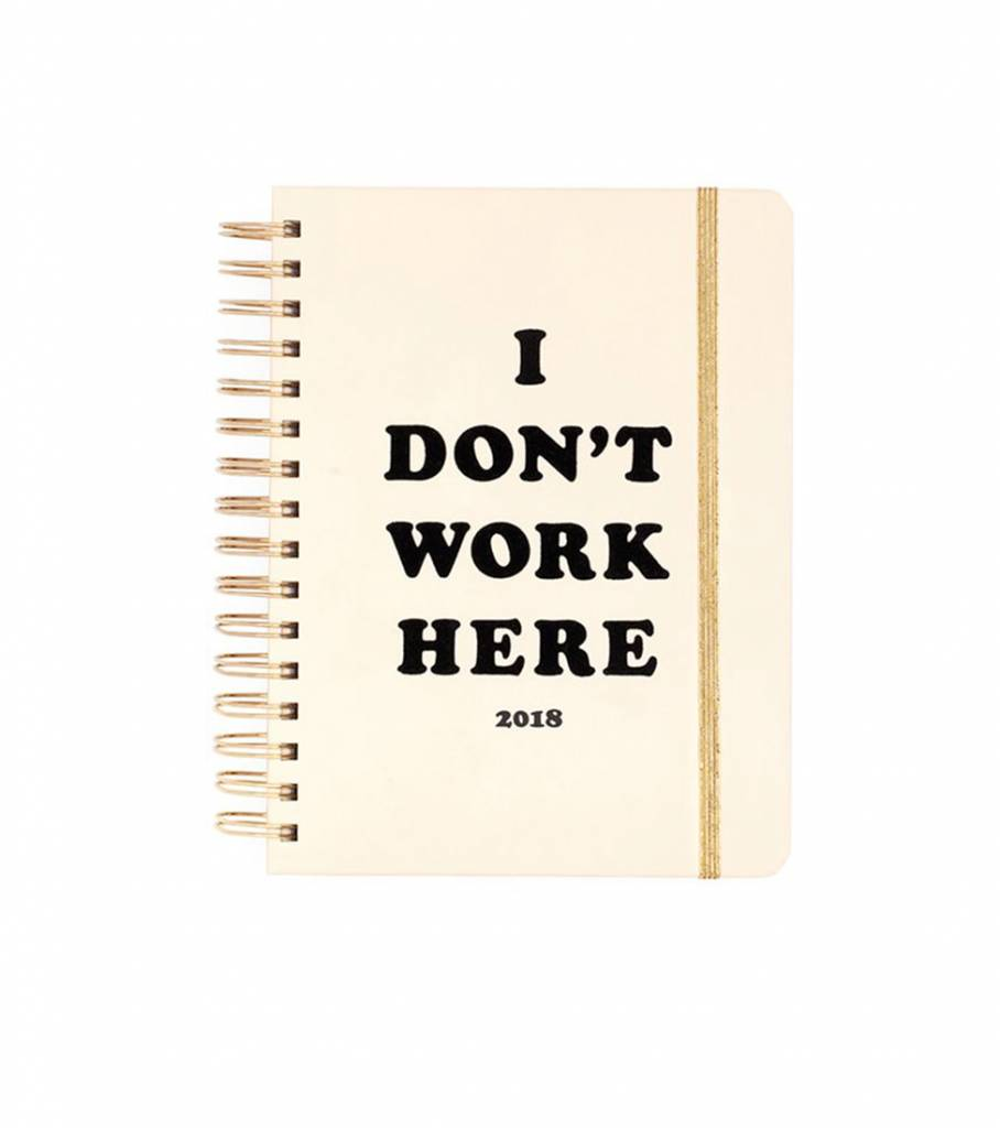 I DON'T WORK HERE MEDIUM AGENDA