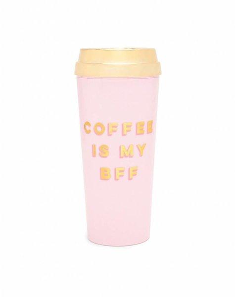 COFFEE IS MY BFF THERMAL MUG