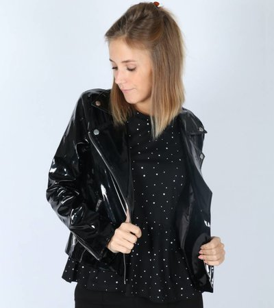 ON FIRE BLACK JACKET