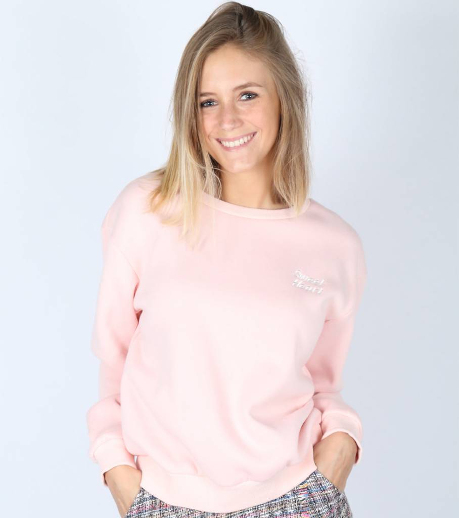 MY SWEETHEART SWEATER PINK