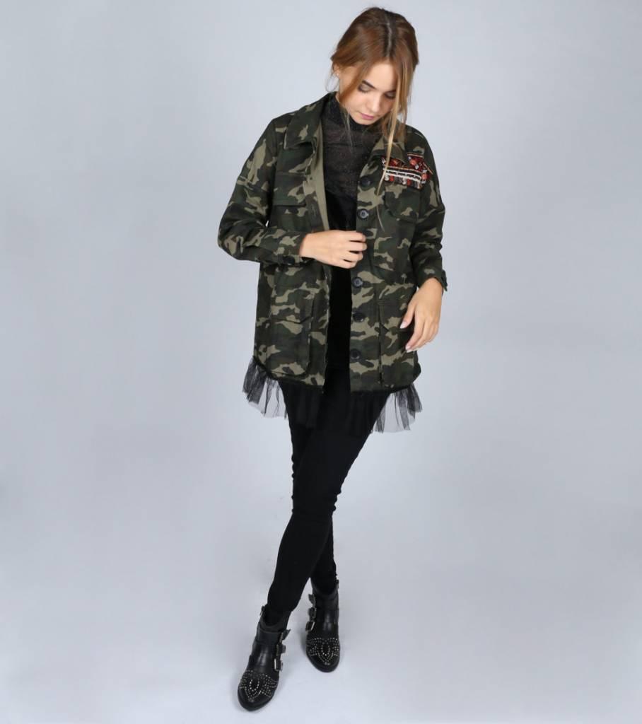 BALLERINA ARMY GIRL JACKET