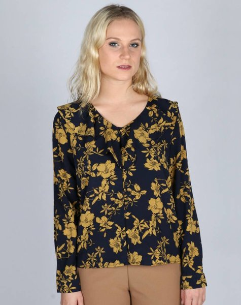IN THE NAME OF FLOWERS BLOUSE