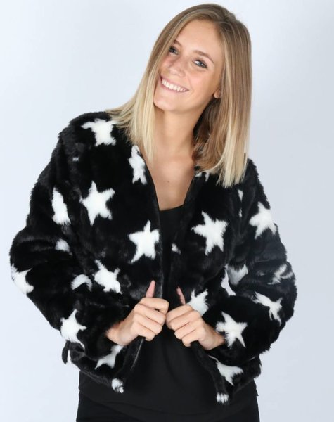 ALL THE STARS FUR JACKET