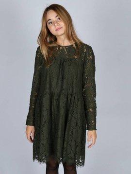 BOTTLE IT UP GREEN DRESS
