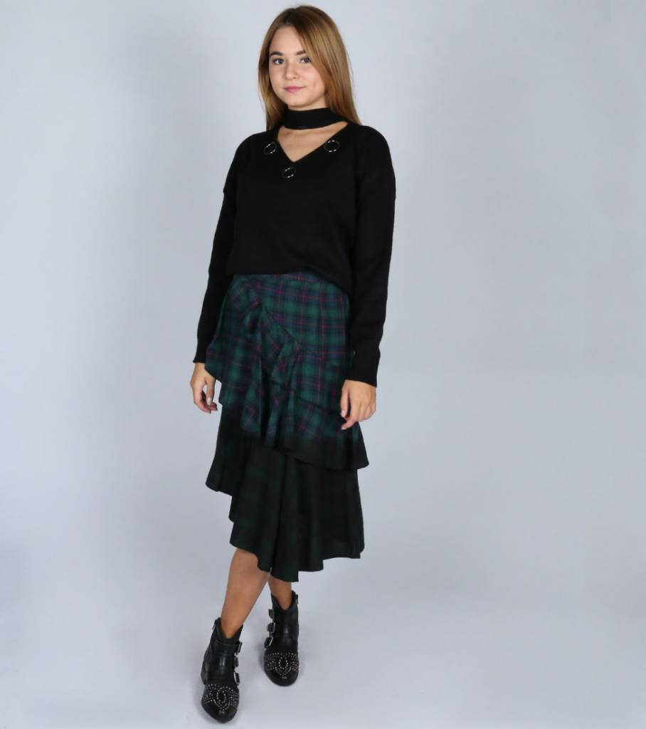 RING PARTY KNIT BLACK