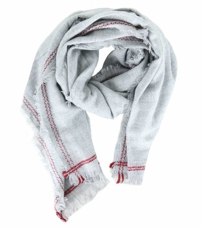 KEEP ME WARM GREY SCARF
