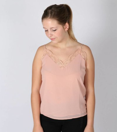 FAVORITE LACE TOP ROSE