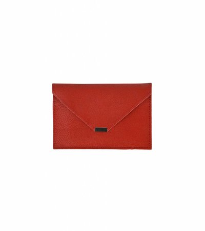 ENVELOPPE TRAVEL WALLET RED