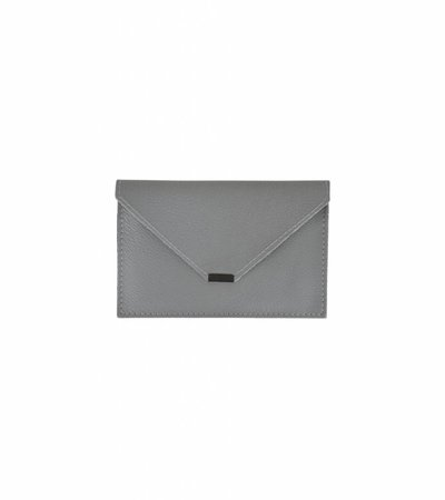 ENVELOPPE TRAVEL WALLET GREY