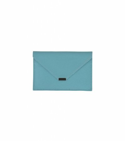 ENVELOPPE TRAVEL WALLET BLUE