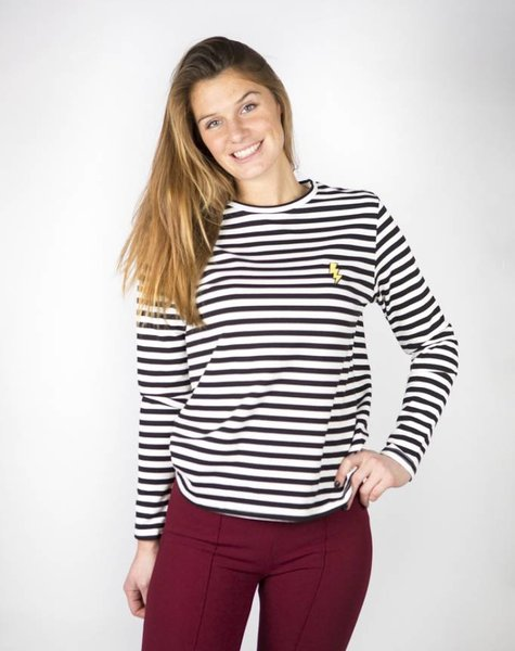 LIGHT UP MY STRIPES SWEATER