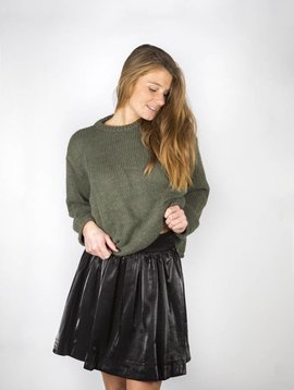 WINTER IS COMINGKHAKI SWEATER