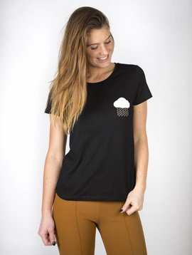 CLOUDY DAY TSHIRT BLACK