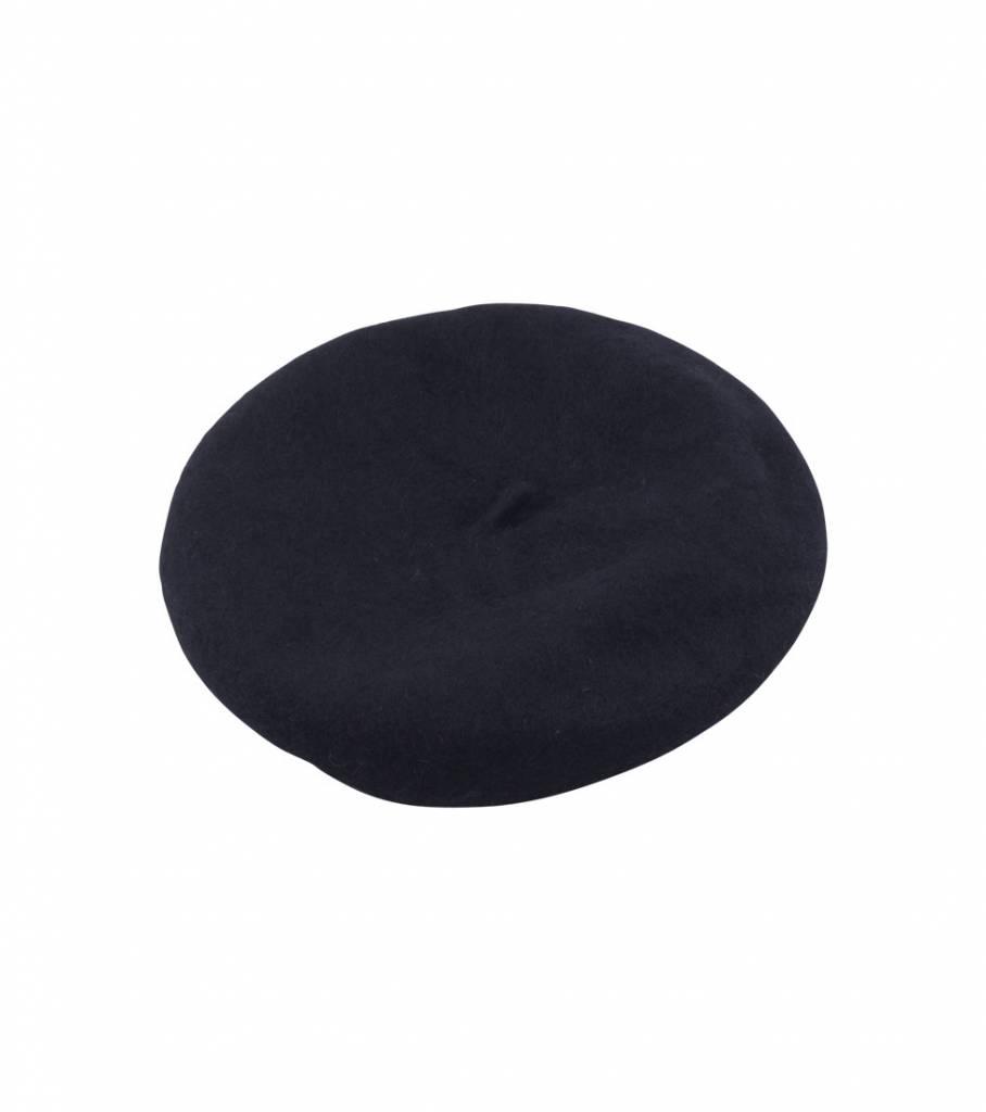 BLACK BARETTE