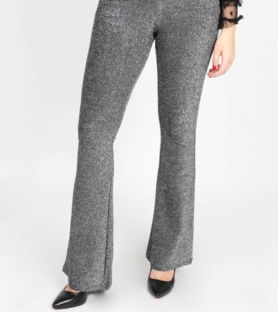BORN TO SPARKLE PANTS SILVER