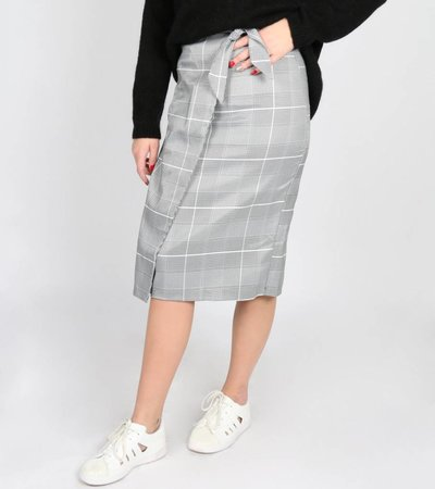 GINGHAM GIRL SKIRT
