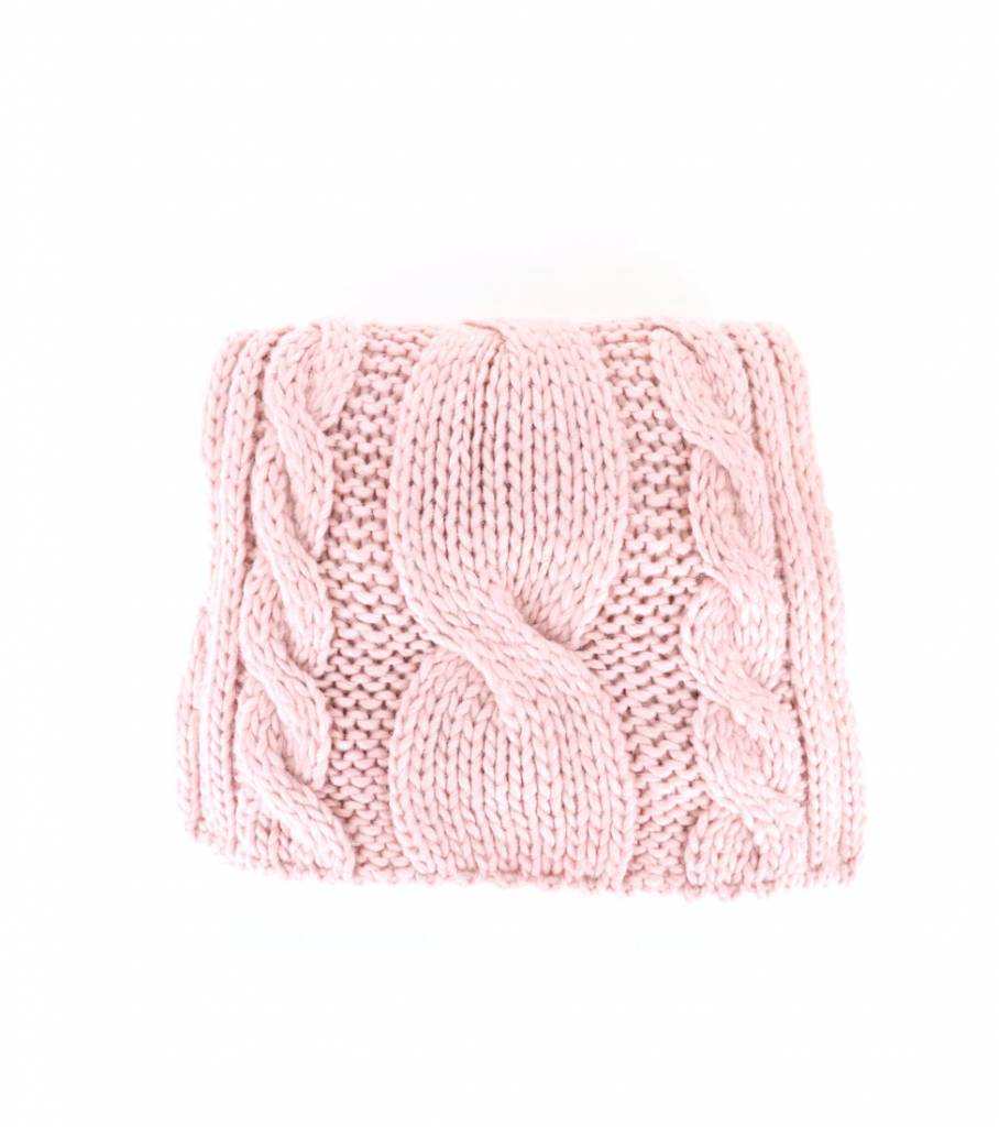 COSY PINK SCARF