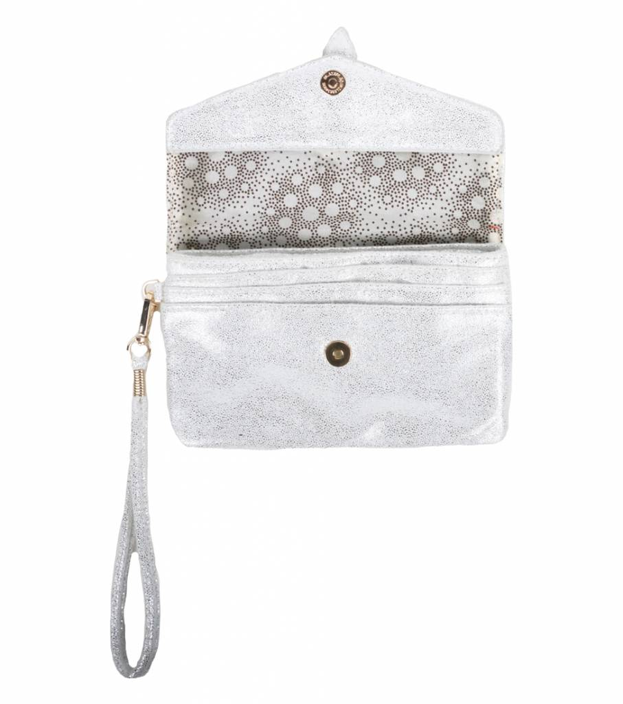 ALL GLAM SILVER CLUTCH