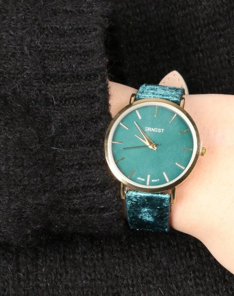 VELVET GREEN WATCH