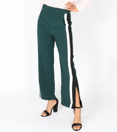 TRACK BABY GREEN PANTS