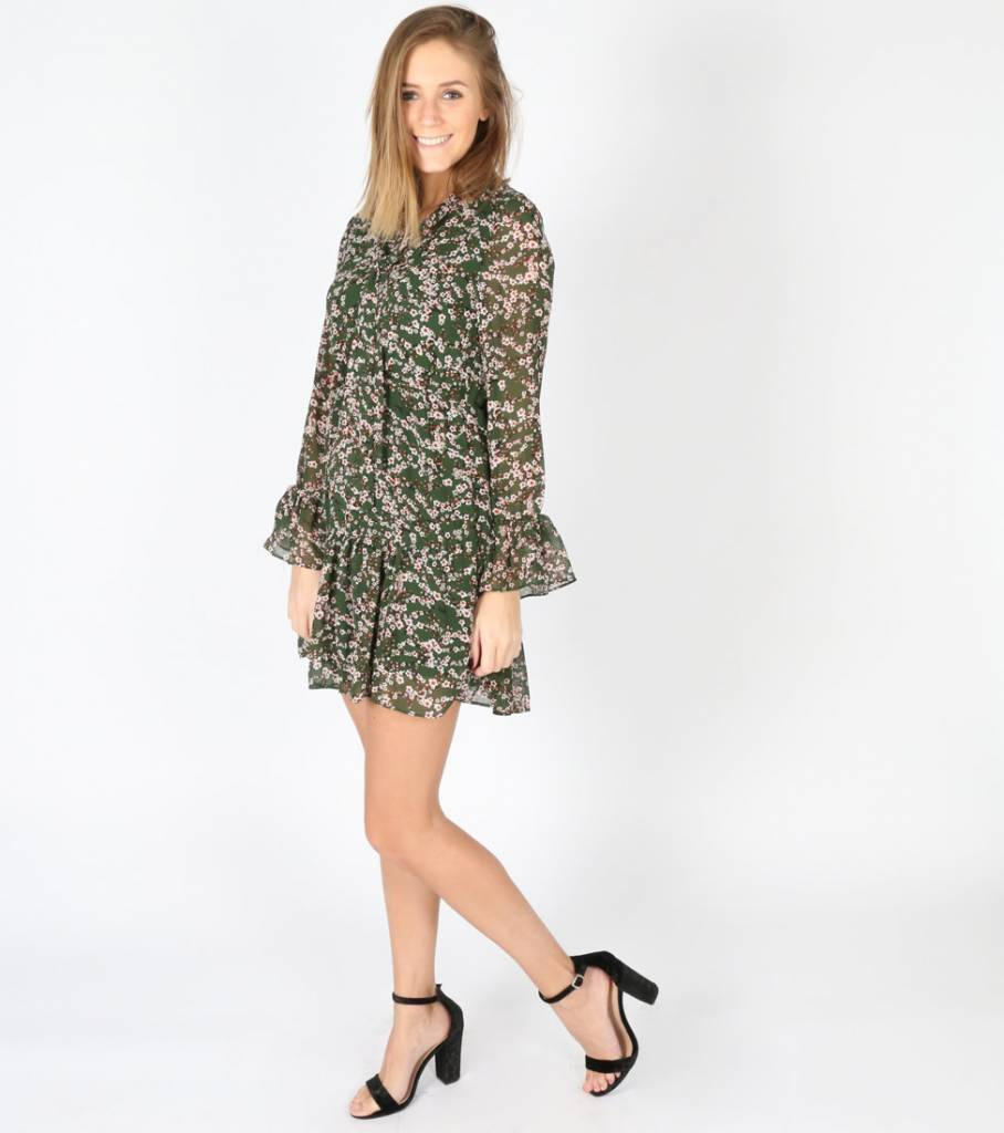 GREENER ON THE OTHER SIDE DRESS