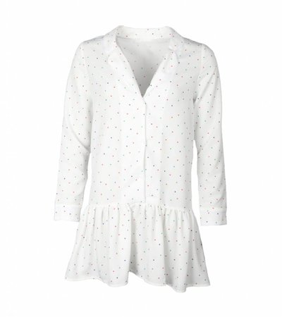 IT'S FINE TO SHINE DRESS WHITE