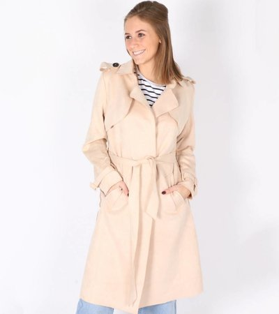 CLASSY APPEARANCE LADY TRENCHCOAT