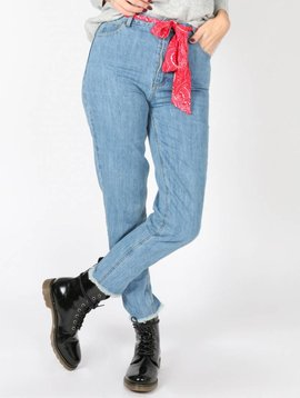 BANDANA BELT JEANS LIGHT