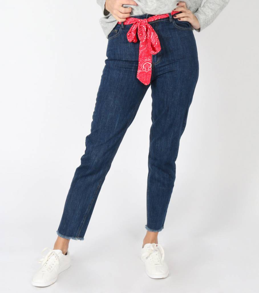 BANDANA BELT JEANS DARK