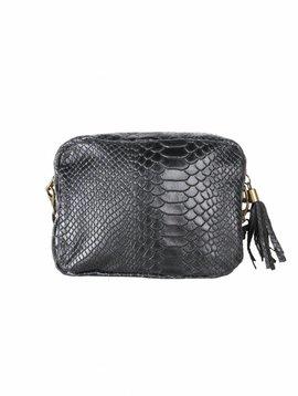 CROCO BLACK BAG