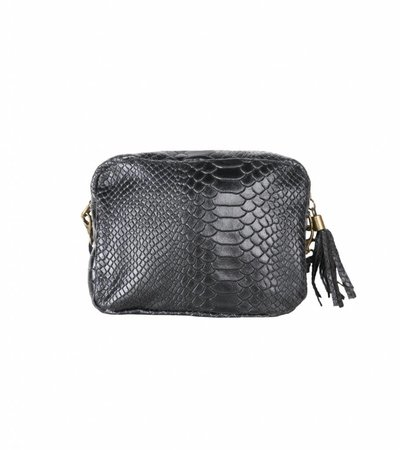 CROCO BLACK BAG