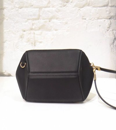 HEXAGON BAG BLACK