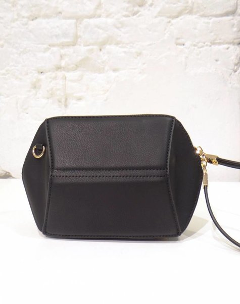 HEXAGON BAG BLACK