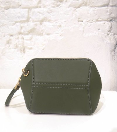 HEXAGON BAG GREEN