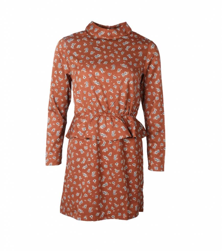 SPRING FEELS BROWN DRESS