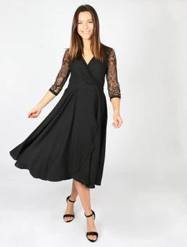 FOR A NIGHT OUT BLACK DRESS