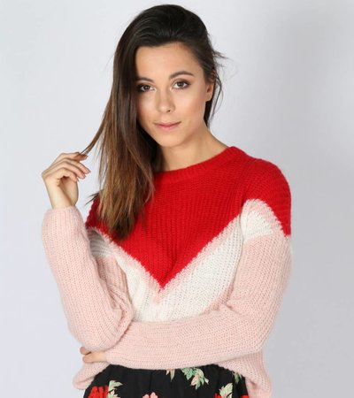 FOR THE PINK GIRLS KNIT