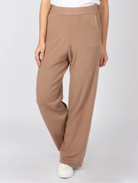 COSY WIDE PANTS BROWN