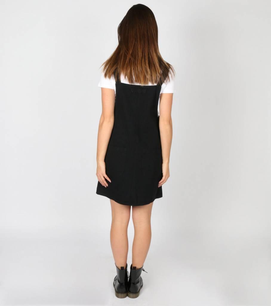 LOVE DENIM DRESS BLACK