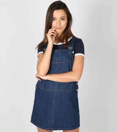 LOVE DENIM DRESS BLUE
