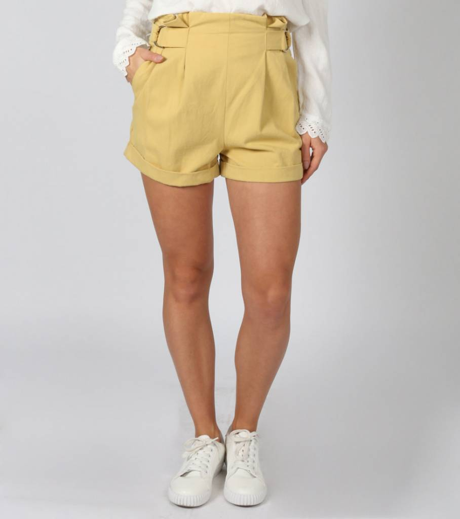 BACK TO THE 90S SHORT YELLOW
