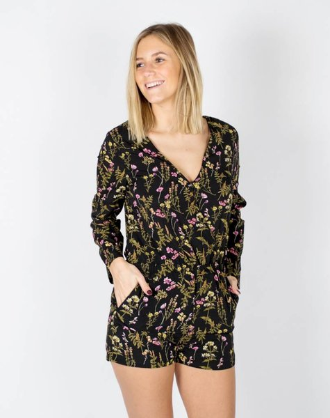 JUNGLE FLOWER PLAYSUIT