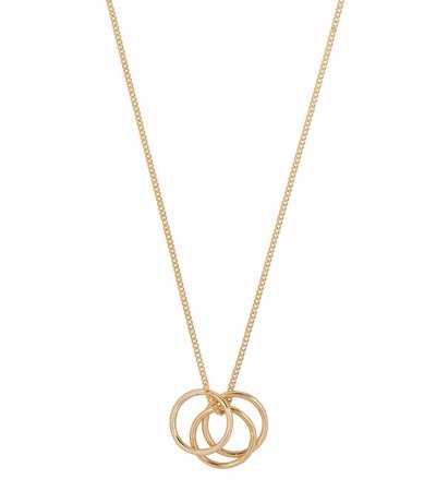 RING IT UP NECKLACE GOLD
