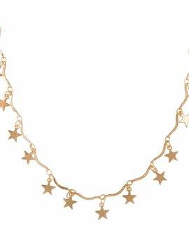 RISING STAR CHOKER GOLD