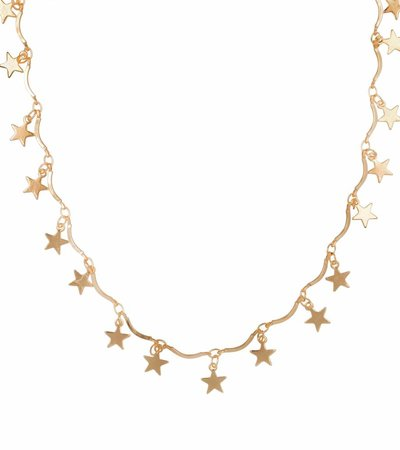 RISING STAR CHOKER GOLD