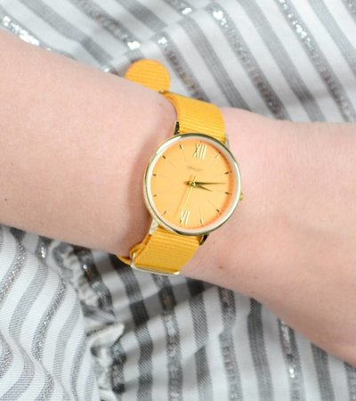 SUMMER OLDSKOOL WATCH YELLOW