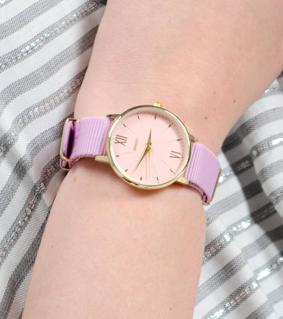 SUMMER OLDSKOOL WATCH PINK