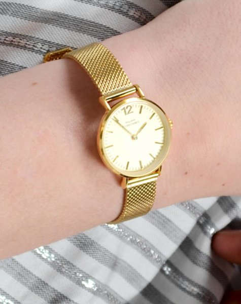 MINI CLASSY YELLOW GOLD WATCH