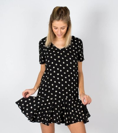 SO SHIMMER BLACK STAR DRESS