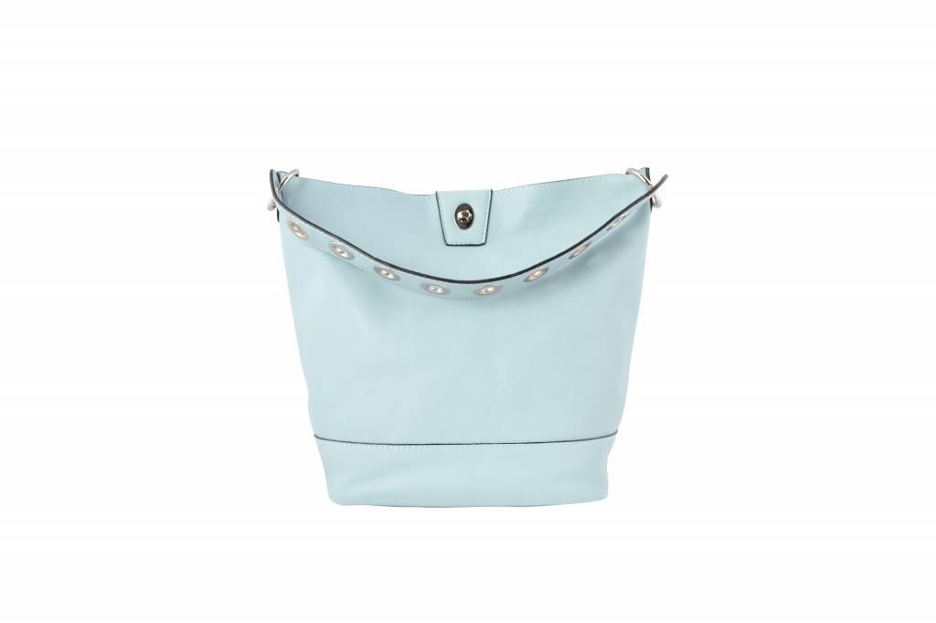 BLUE BUCKET BAG